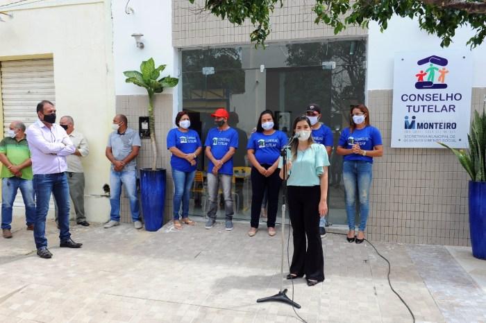 Nova sede do Conselho Tutelar de Monteiro é entregue pela prefeita Anna Lorena