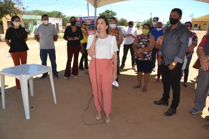 Prefeita Lorena assina da Ordem de Serviço para construção de Escola no bairro do Matadouro