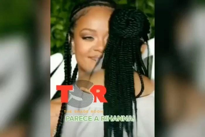 """Rihanna comenta post sobre sósia brasileira: """"Cadê o álbum?"""""""