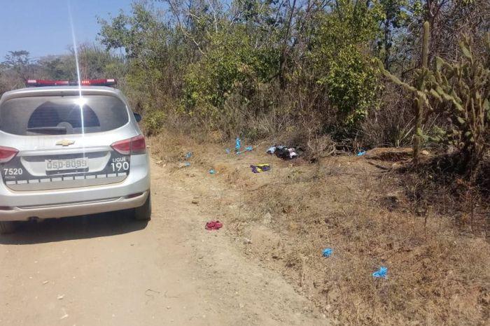 Corpos de dois jovens são encontrados em matagal na região do Cariri paraibano