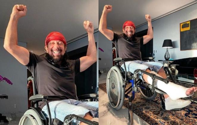 Bell Marques sofre acidente e passará por cirurgia