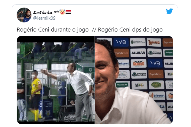 "Em 1ª vitória, Rogério Ceni ""pistola"" bomba nas redes"