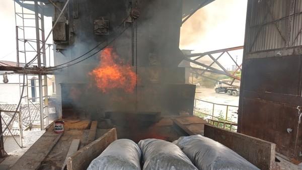 Quase uma tonelada de drogas é incinerada pela PC em Campina