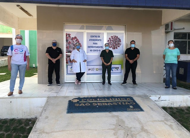 Secretaria de Saúde de Amparo instala Centro de Atendimento para enfrentamento ao Covid-19