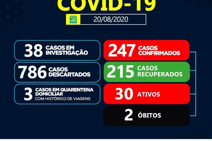 Boletim Epidemiológico do Coronavírus de Sumé informa sobre um novo caso e três recuperados