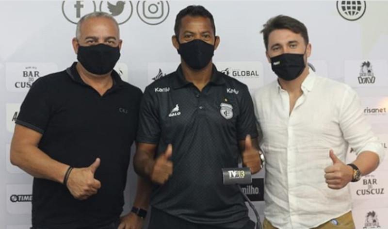 Série C: Treze anuncia a volta de Marcelinho Paraíba