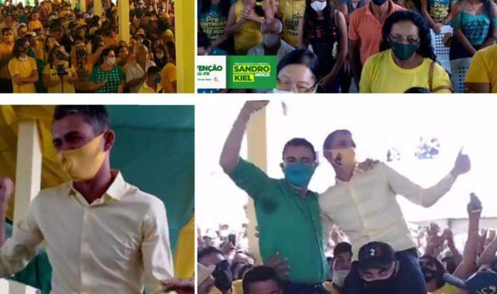 Em Camalaú: Sando Môco e Kiel são escolhidos em convenção como candidatos