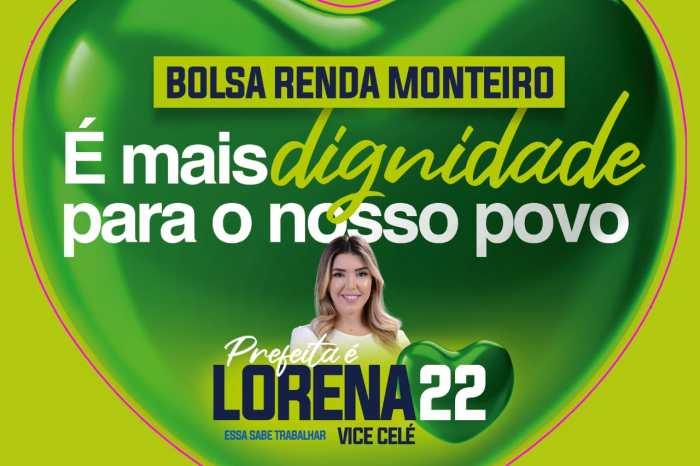 Bolsa Renda Monteiro é uma das propostas apresentadas por Anna Lorena