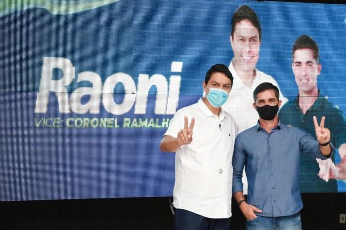 Democratas oficializa a candidatura de Raoni Mendes em JP