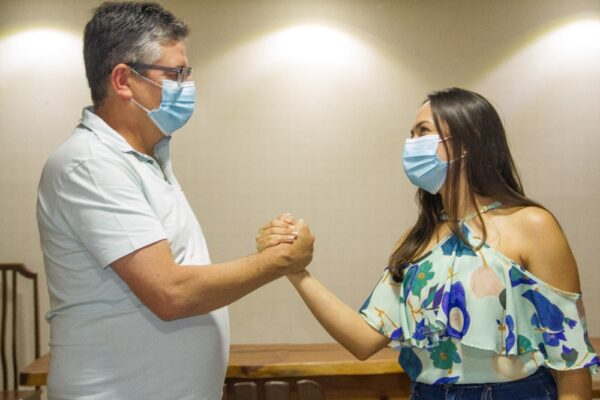 Eleições 2020: Flávia Quirino é escolhida como companheira de chapa de Dr. Romualdo
