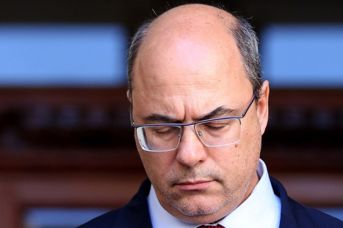 STF suspende interrogatório de Witzel no processo de impeachment