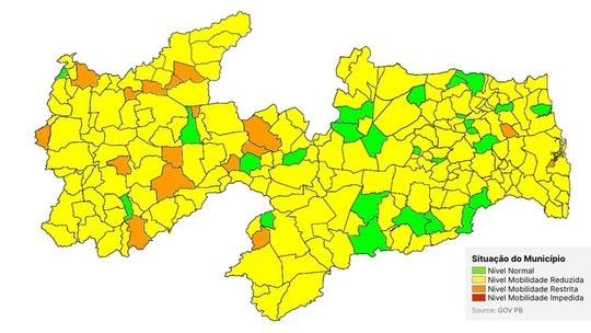 Nova avaliação do governo mostra o dobro de municípios em bandeira verde