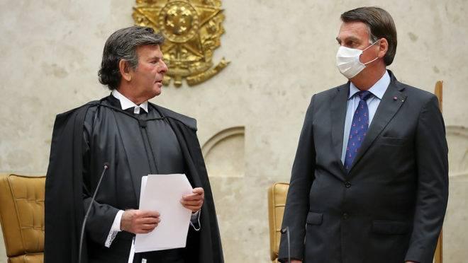 Bolsonaro vai ao STF para reunião com o ministro Luiz Fux