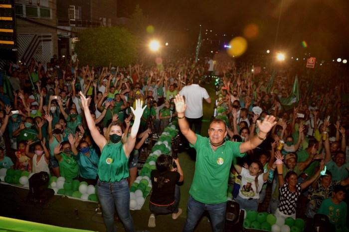 Lorena realiza arrancada da vitória com evento na zona rural e grande comício na cidade