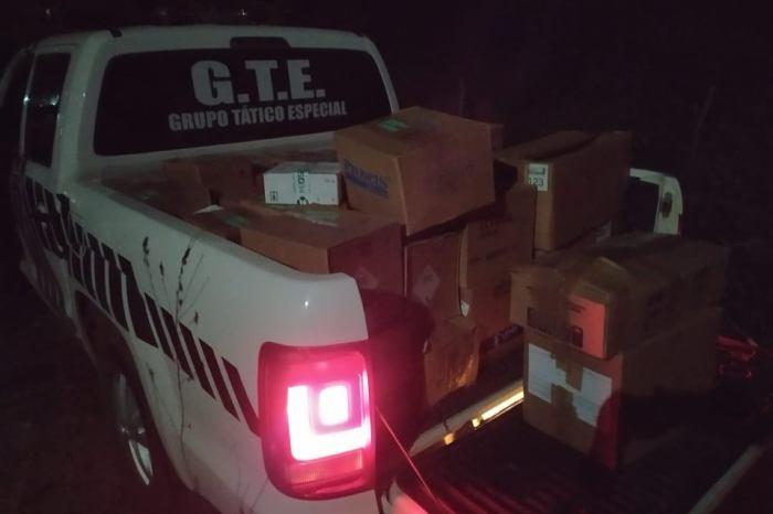 Polícia Civil recupera carga roubada avaliada em R$ 200 mil em cidade do Cariri