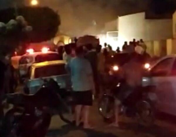 Incêndio é registrado em residência de casal de idosos no centro de Serra Branca