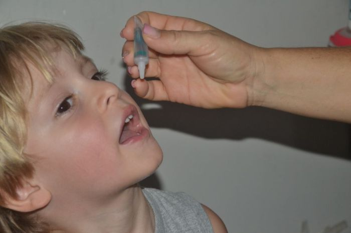 Paraíba prorroga a Campanha de Vacinação contra a Poliomielite