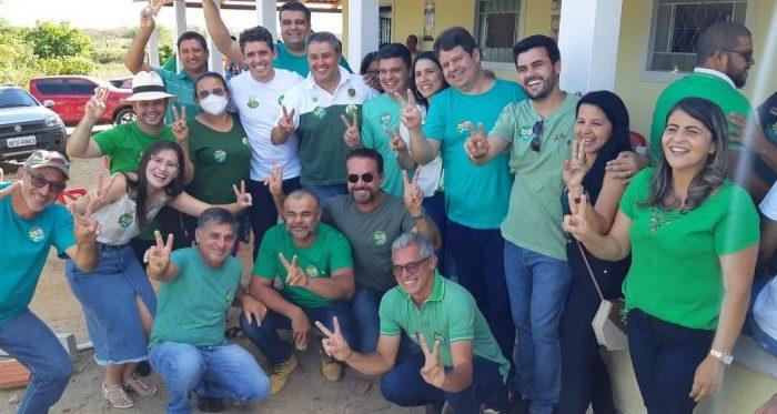 Deputados visitam Ouro Velho e são recebidos pelo grupo político de Dr. Júnior