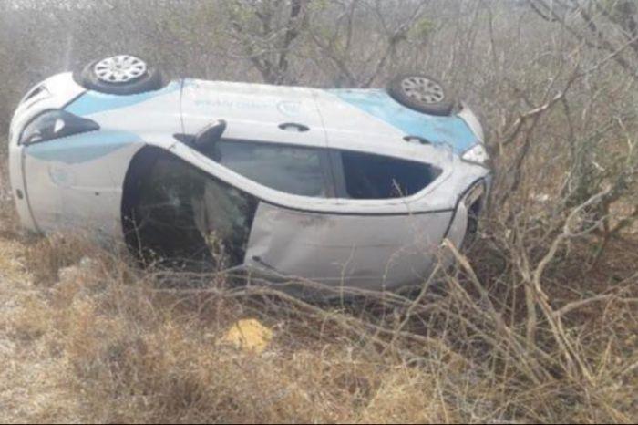 Veículo da Prefeitura de Santo André com pacientes que fazem hemodiálise sofre acidente