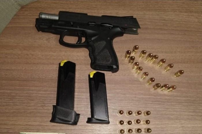 Homem de 28 anos é preso com pistola e munições na região do Cariri