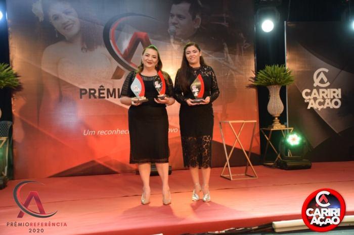 Anna Lorena e Celecileno encerram ano vitorioso com homenagem no Prêmio Referência