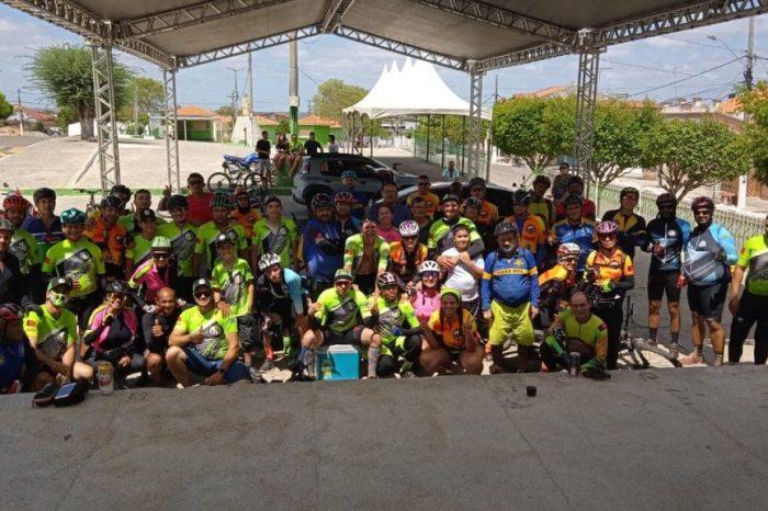 Ciclistas de Boa Vista participam do 3º Giro Cariri e percorrem 228 Km por várias cidades da região