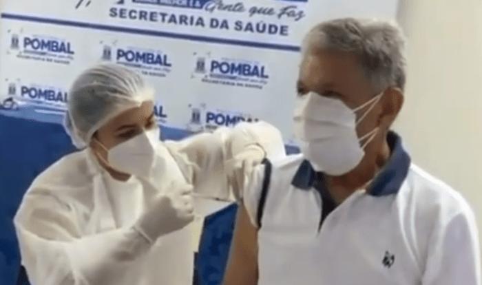 MPF apura irregularidade na vacinação de políticos na Paraíba