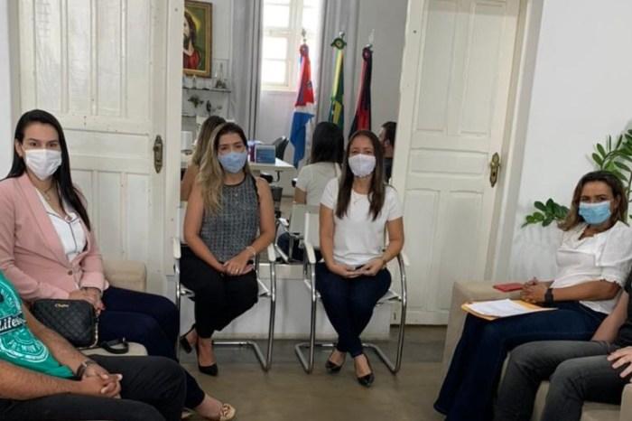 Secretária Executiva de Juventude se reúne com Anna Lorena e Rosa Aleixo para discutir agenda 2021