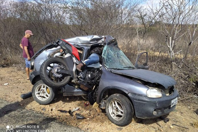 Delegado de Polícia Civil morre vítima de acidente de moto em Juazeirinho