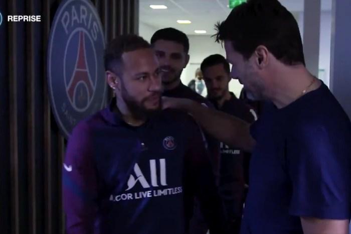 Neymar tem primeiro encontro com Pochettino na volta ao PSG