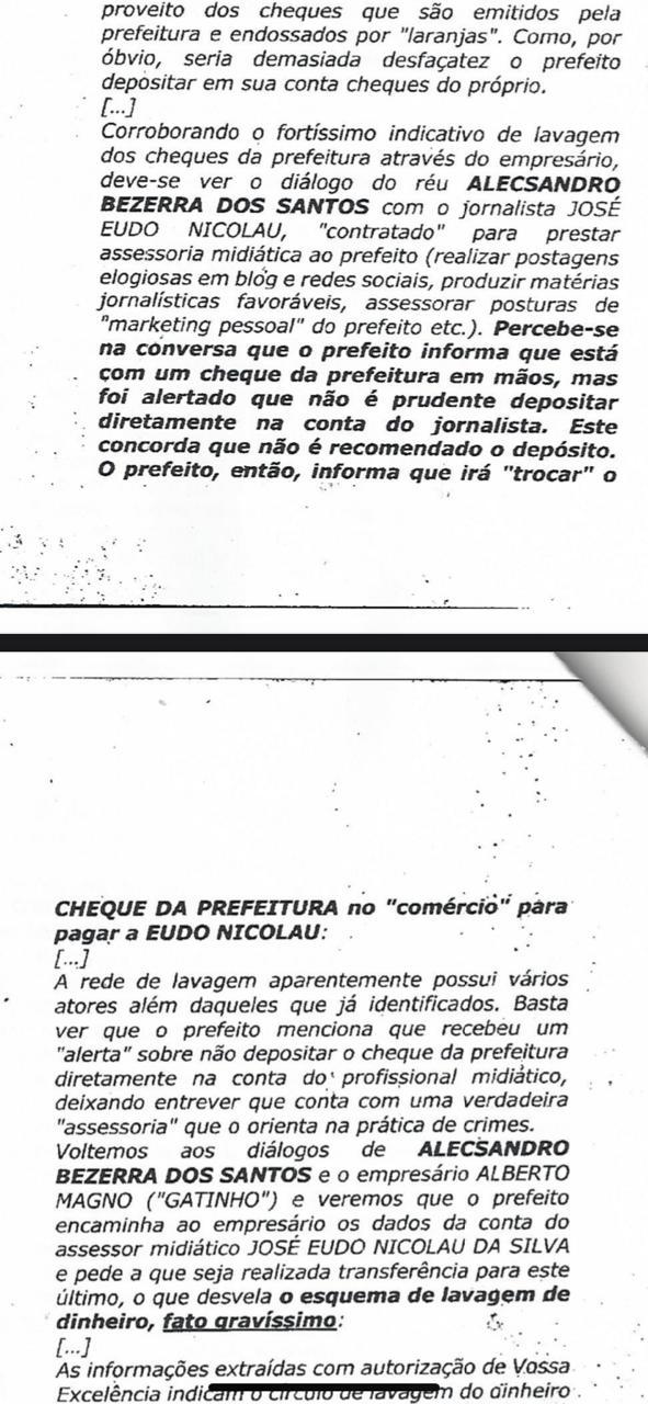 decisao_eudo_1 Radialista é acusado de participar de esquema de lavagem de dinheiro na Prefeitura de Camalaú