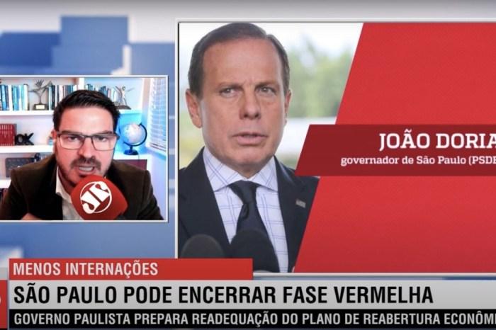 Doria bate boca com Constantino na Jovem Pan: 'Vassalo do Bolsonaro'