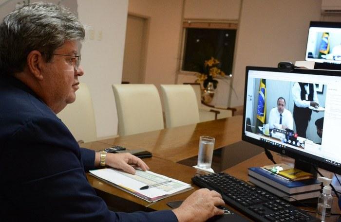 Governador João Azevêdo confirma a compra de 37 milhões de doses da vacina russa Sputnik pelo Consórcio Nordeste