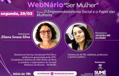Última noite do WebNário discute O Empreendedorismo Social e o Papel das Mulheres