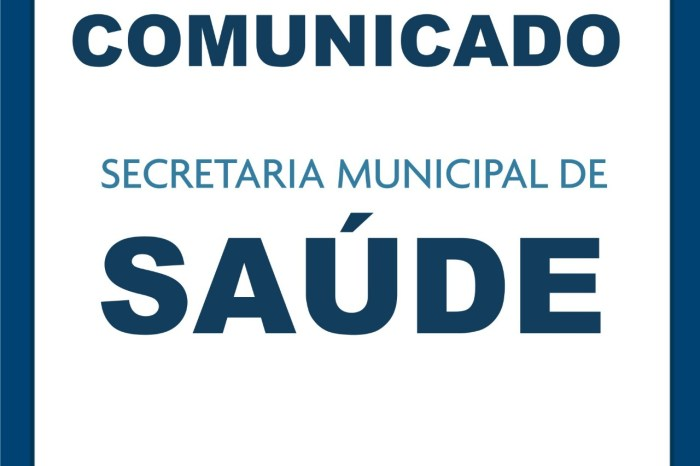 Secretaria de Saúde de Monteiro fará agendamento para atender e evitar aglomerações