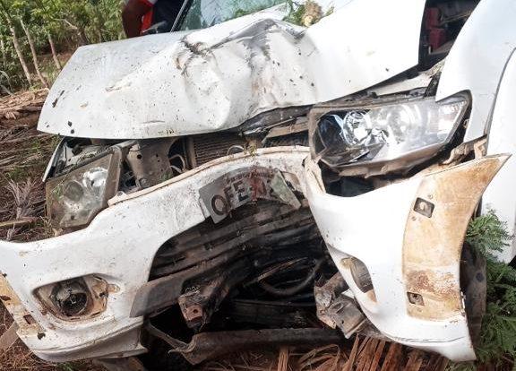 MOÌDOS DA REDAÇÃO: Empresário Kubata Motos se envolve em acidente na Zona Rural de Boqueirão