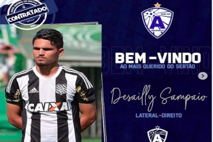 Atlético de Cajazeiras contrata mais quatro para a disputa do Paraibano
