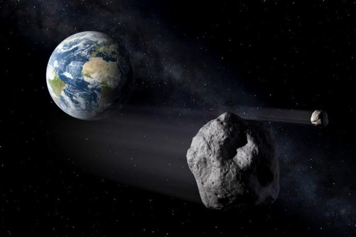 Asteroide passa próximo à Terra neste domingo a 124 mil km/h