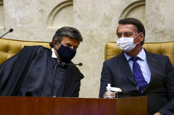 Fux liga para Bolsonaro após fala do presidente sobre estado de sítio