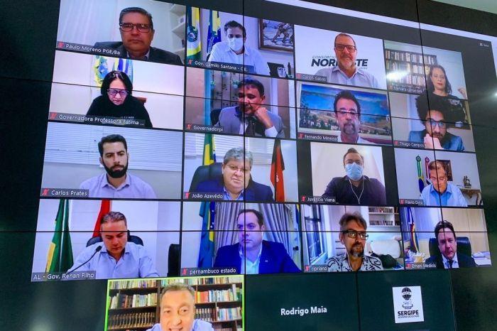 João Azêvedo e outros Governadores pedem prioridade para vacinação de profissionais de Educação e Segurança