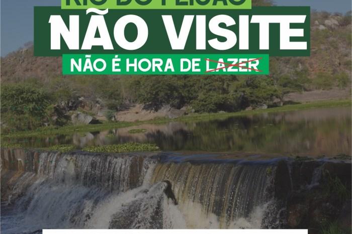 Barra de Santana promove campanha de conscientização turística: NÃO É HORA DE LAZER!
