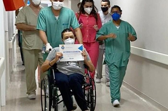 Deputadal Cida Ramos recebe alta pós tratamento de Covid-19