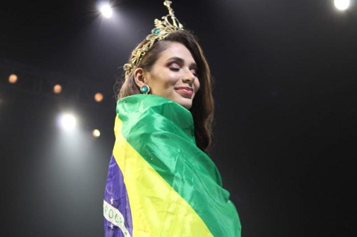 Paraibana fica em quinto lugar em concurso internacional de beleza