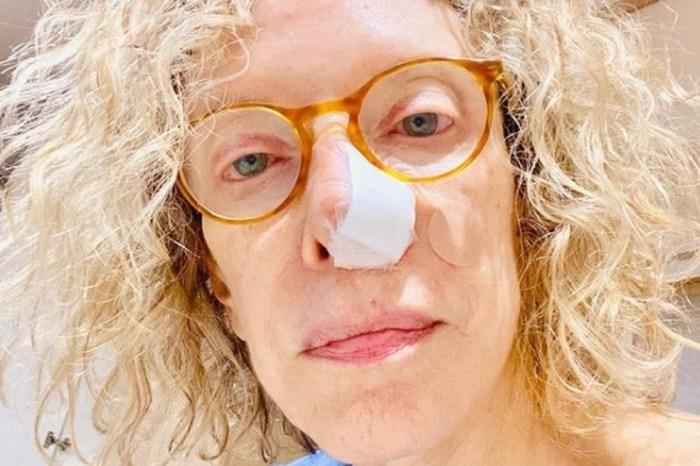 Marília Gabriela descobre câncer no nariz e passa por cirurgia