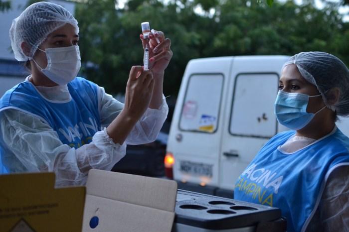 CG cadastra profissionais de segurança, de educação e pessoas com comorbidades para vacinação contra Covid