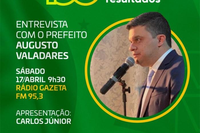 100 DIAS EM PAUTA: prefeito de Ouro Velho concede entrevista neste sábado, 17 de abril