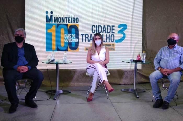 Lorena lança Cidade Trabalho III, o maior programa de obras já visto em Monteiro