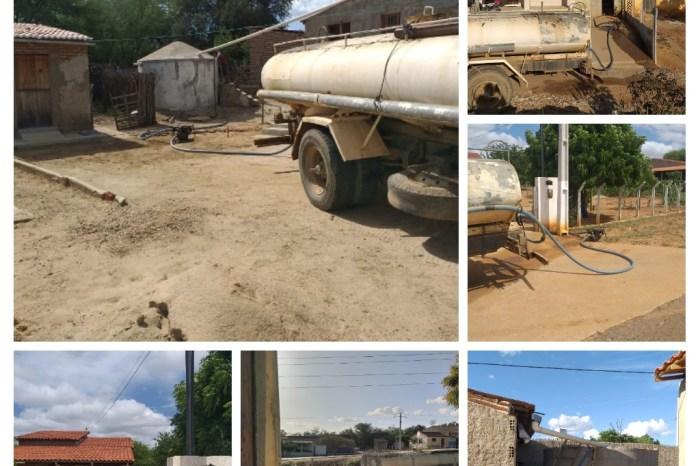 Secretaria de Agricultura reforça abastecimento de água com carros pipa em Monteiro