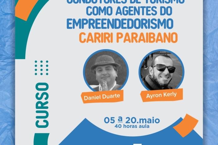 Sebrae Paraíba está com inscrições abertas para o curso de Condutores do Turismo como agentes do empreendedorismo