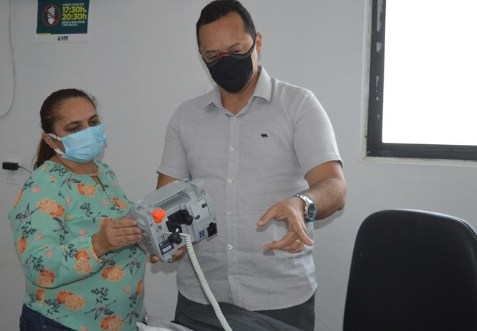 Novos equipamentos reforçam ala Covid e Maternidade do Hospital de Sumé